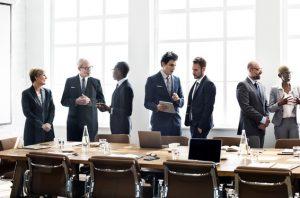 Meeting room of internal consultants