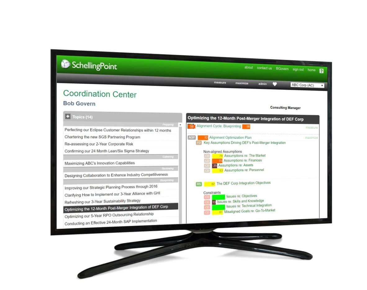 SchellingPoint Strategic Collaboration Software